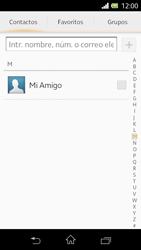 Sony Xperia L - Mensajería - Escribir y enviar un mensaje multimedia - Paso 6