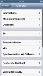 Apple iPhone 5 - Internet - Configuration manuelle - Étape 4