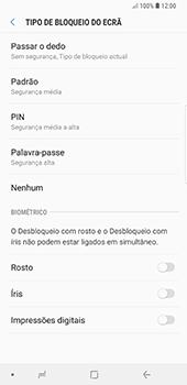 Samsung Galaxy Note 8 - Android Oreo - Segurança - Como ativar o código de bloqueio do ecrã -  6