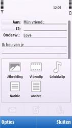 Nokia C6-00 - E-mail - Hoe te versturen - Stap 11