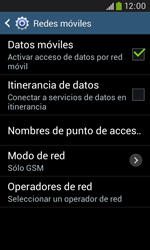 Samsung S7580 Galaxy Trend Plus - Red - Seleccionar el tipo de red - Paso 8