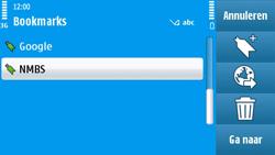 Nokia N97 - Internet - internetten - Stap 11