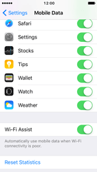 Apple iPhone 5 iOS 10 - Internet - Disable WiFi Assist - Step 5