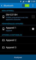 Samsung G318H Galaxy Trend 2 Lite - Bluetooth - connexion Bluetooth - Étape 10