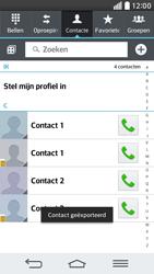 LG D620 G2 mini - Contacten en data - Contacten kopiëren van toestel naar SIM - Stap 10