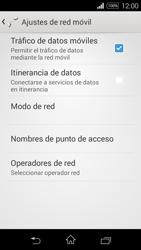 Sony D2203 Xperia E3 - Internet - Activar o desactivar la conexión de datos - Paso 6