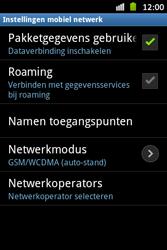 Samsung S6500D Galaxy Mini 2 - Netwerk - gebruik in het buitenland - Stap 12