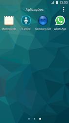Samsung Galaxy S5 - Aplicações - Como configurar o WhatsApp -  4