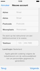 Apple iPhone 5 iOS 7 - apps - account instellen - stap 21