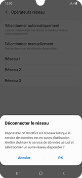 Samsung Galaxy A50 - Réseau - utilisation à l'étranger - Étape 15