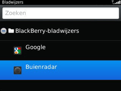 BlackBerry 9320 Curve - Internet - Hoe te internetten - Stap 10