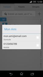 Sony Xpéria E3 - Contact, Appels, SMS/MMS - Envoyer un SMS - Étape 8