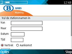 Nokia E71 - Internet - internetten - Stap 14