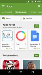 Motorola Moto G (2ª Geração) - Aplicativos - Como baixar aplicativos - Etapa 5