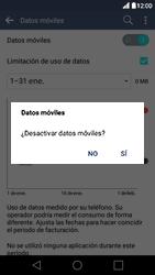LG K10 4G - Internet - Activar o desactivar la conexión de datos - Paso 6