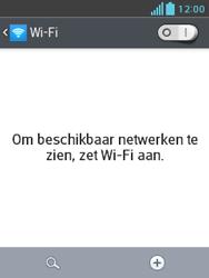 LG E430 Optimus L3 II - WiFi - Handmatig instellen - Stap 6