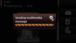 Nokia N97 Mini - MMS - Sending pictures - Step 17