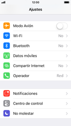 Apple iPhone 5s - iOS 11 - Red - Seleccionar una red - Paso 3