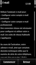 Nokia 500 - E-mail - Configuration manuelle - Étape 6