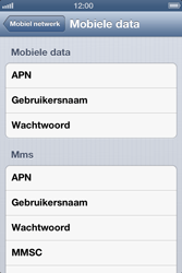Apple iPhone 4 (iOS 6) - internet - handmatig instellen - stap 7