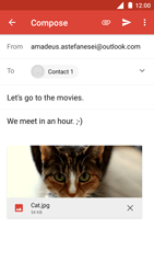 Nokia 3 - Email - Sending an email message - Step 15