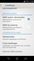 Sony D2203 Xperia E3 - MMS - probleem met ontvangen - Stap 7