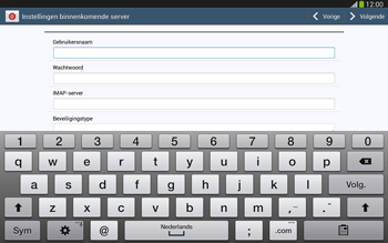 Samsung P5220 Galaxy Tab 3 10-1 LTE - E-mail - Handmatig instellen - Stap 8