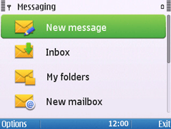 Nokia E5-00 - Email - Sending an email message - Step 4