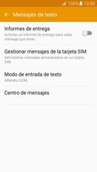 Samsung Galaxy A3 (2016) - Mensajería - Configurar el equipo para mensajes de texto - Paso 8