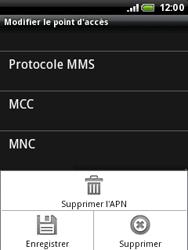 HTC A3333 Wildfire - MMS - configuration manuelle - Étape 12