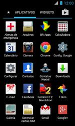 Motorola XT621 Primus Ferrari - Rede móvel - Como ativar e desativar uma rede de dados - Etapa 3