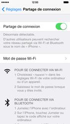 Apple iPhone 5 - Internet et connexion - Partager votre connexion en Wi-Fi - Étape 8
