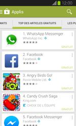 Samsung Galaxy Express - Applications - Télécharger une application - Étape 7