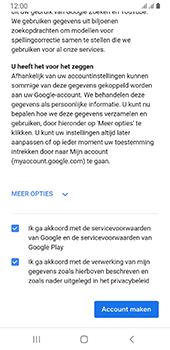 Samsung galaxy-a8-2018-sm-a530f-android-pie - Applicaties - Account aanmaken - Stap 18