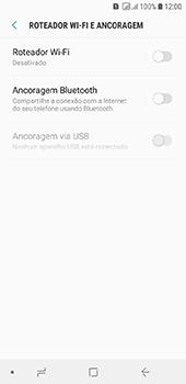 Samsung Galaxy J6 - Wi-Fi - Como usar seu aparelho como um roteador de rede wi-fi - Etapa 6