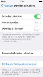 Apple iPhone 5s iOS 9 - Réseau - Changer mode réseau - Étape 4