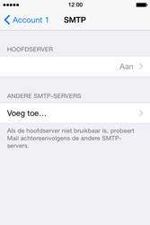 Apple iPhone 4s iOS 8 - E-mail - Account instellen (POP3 zonder SMTP-verificatie) - Stap 17