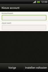 HTC A320e Desire C - E-mail - Handmatig instellen - Stap 17