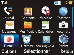 Samsung S3570 Chat 357 - E-mail - Configuration manuelle - Étape 3