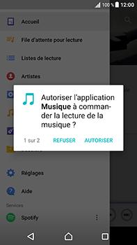 Sony Xperia XA1 Ultra - Photos, vidéos, musique - Ecouter de la musique - Étape 4