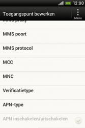 HTC A320e Desire C - MMS - handmatig instellen - Stap 12