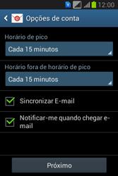 Samsung S6293T Galaxy Young Plus - Email - Como configurar seu celular para receber e enviar e-mails - Etapa 17