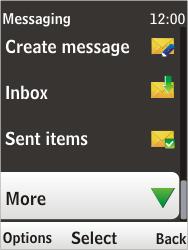 Nokia 6303i classic - E-mail - Sending emails - Step 4