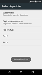 Alcatel Idol 3 - Red - Seleccionar una red - Paso 10