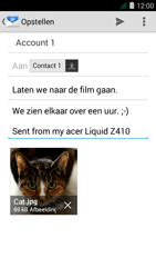 Acer Liquid Z410 - E-mail - E-mails verzenden - Stap 16