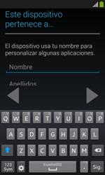 Samsung S7580 Galaxy Trend Plus - Primeros pasos - Activar el equipo - Paso 11