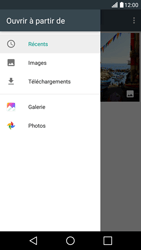LG X Screen - E-mail - Envoi d
