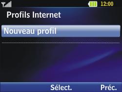 LG C320 InTouch Lady - Internet - Configuration manuelle - Étape 12