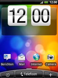 HTC A3333 Wildfire - Internet - Voorbeelden van mobiele sites - Stap 1