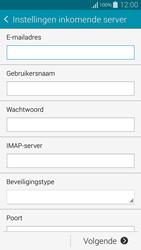 Samsung Galaxy Alpha - E-mail - Handmatig instellen - Stap 8